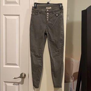 🍂🍁NWOT altar'd state green skinny jeans 🍁🍂